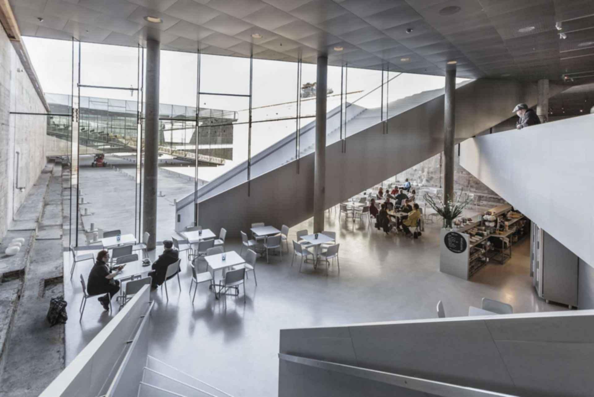 Danish National Maritime Museum - Interior/Cafe