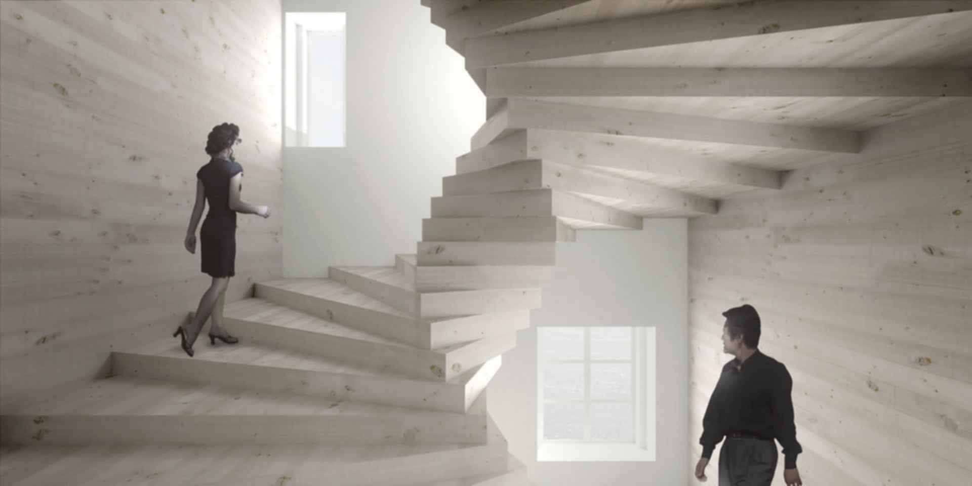 La Maison des Fondateurs - Concept Design/Interior/Stairs