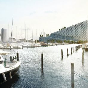 Amager Resource Center - Concept Design/Exterior/Landscape