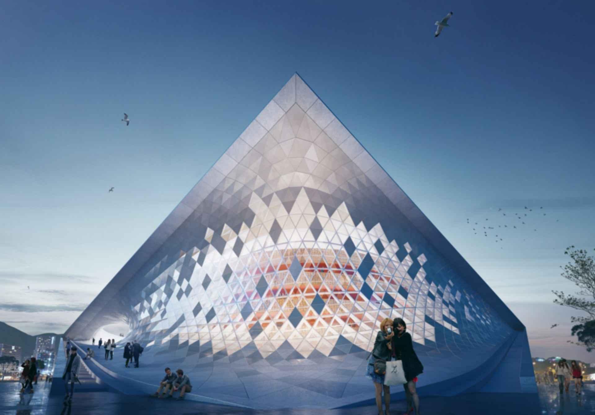 Busan Opera House - Concept Design/Exterior