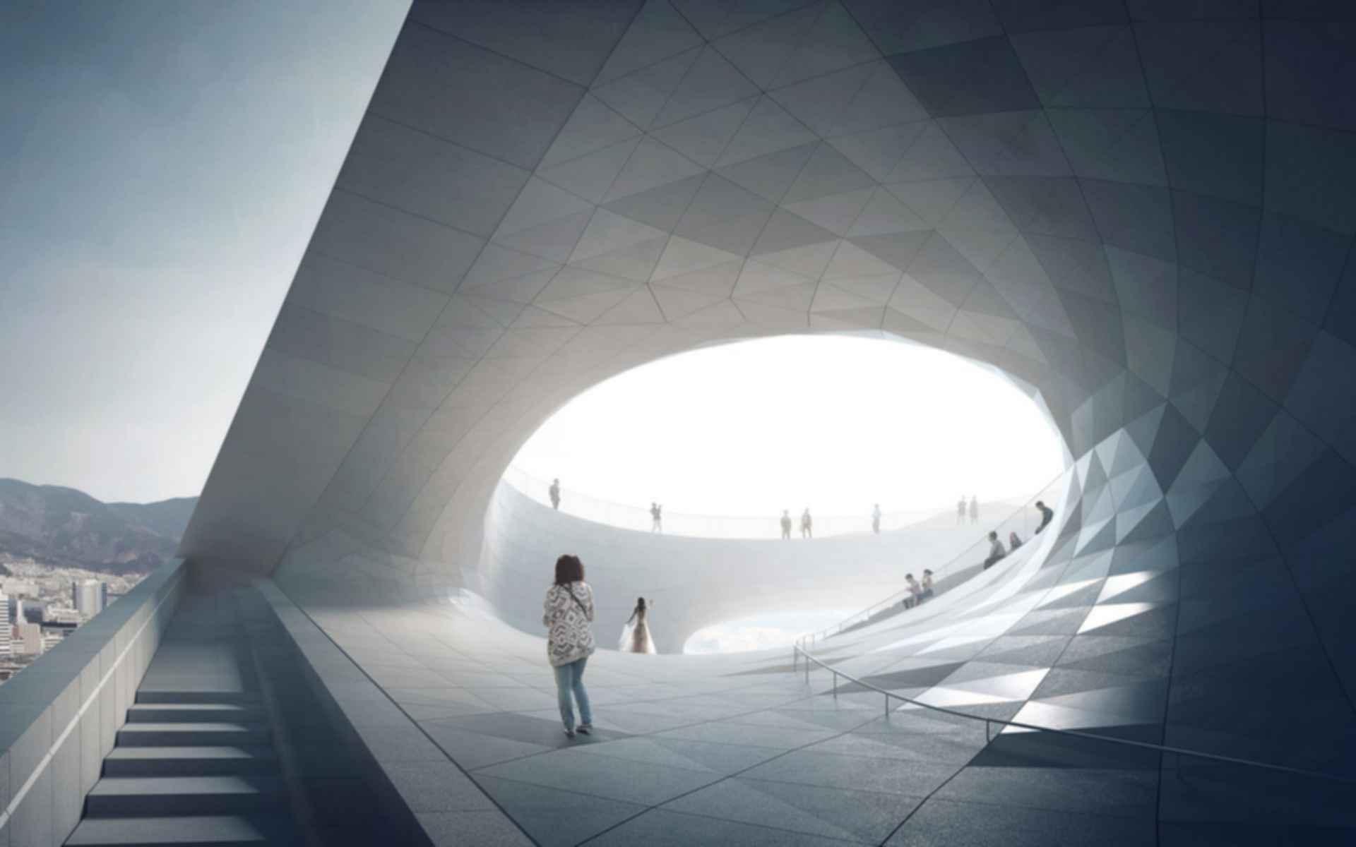 Busan Opera House - Concept Design/Entrance