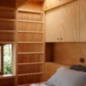 The House on Sleds - Interior