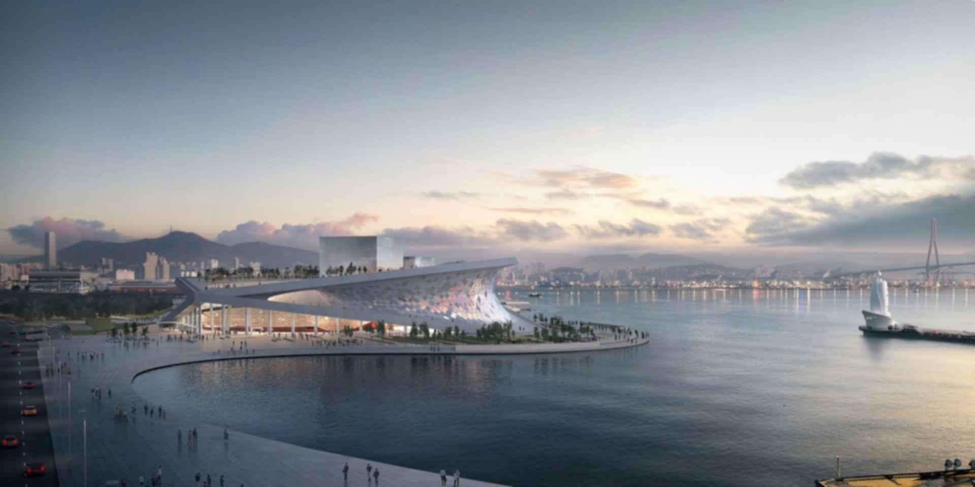 Busan Opera House - Concept Design/Exterior/Landscape
