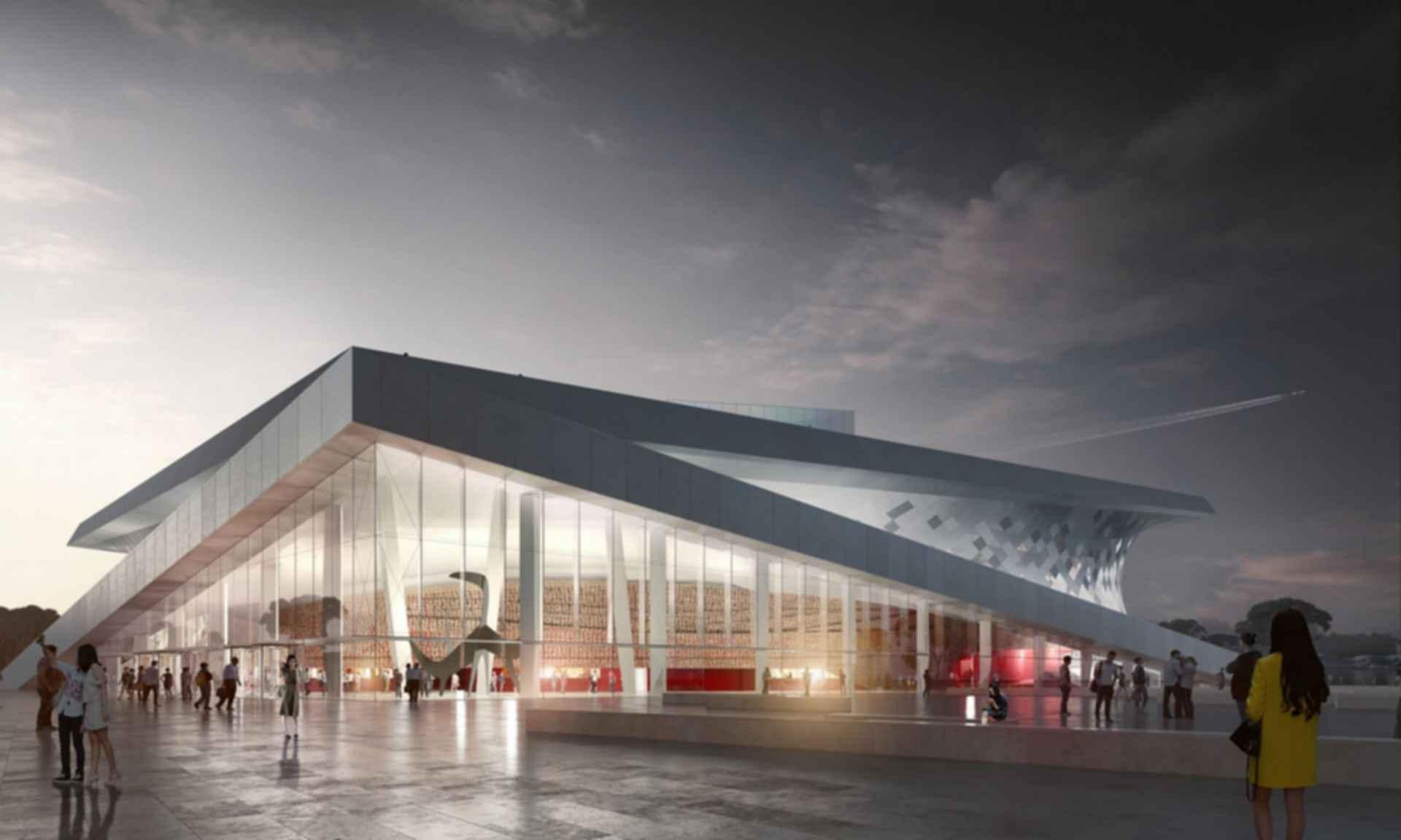 Busan Opera House - Concept Design/Exterior/Entrance