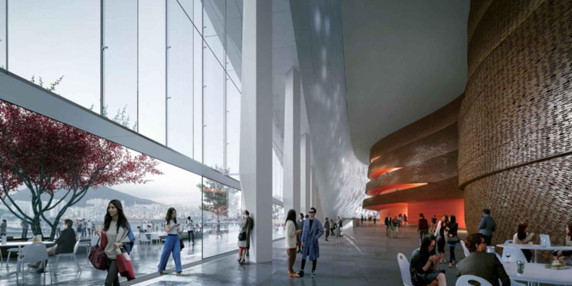 Busan Opera House - Concept Design/Interior