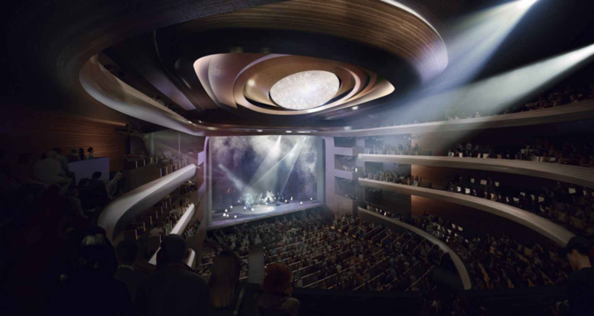 Busan Opera House - Concept Design/Theatre