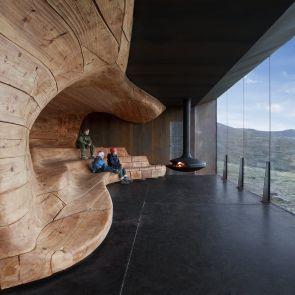 Wild Reindeer Pavilion - Interior