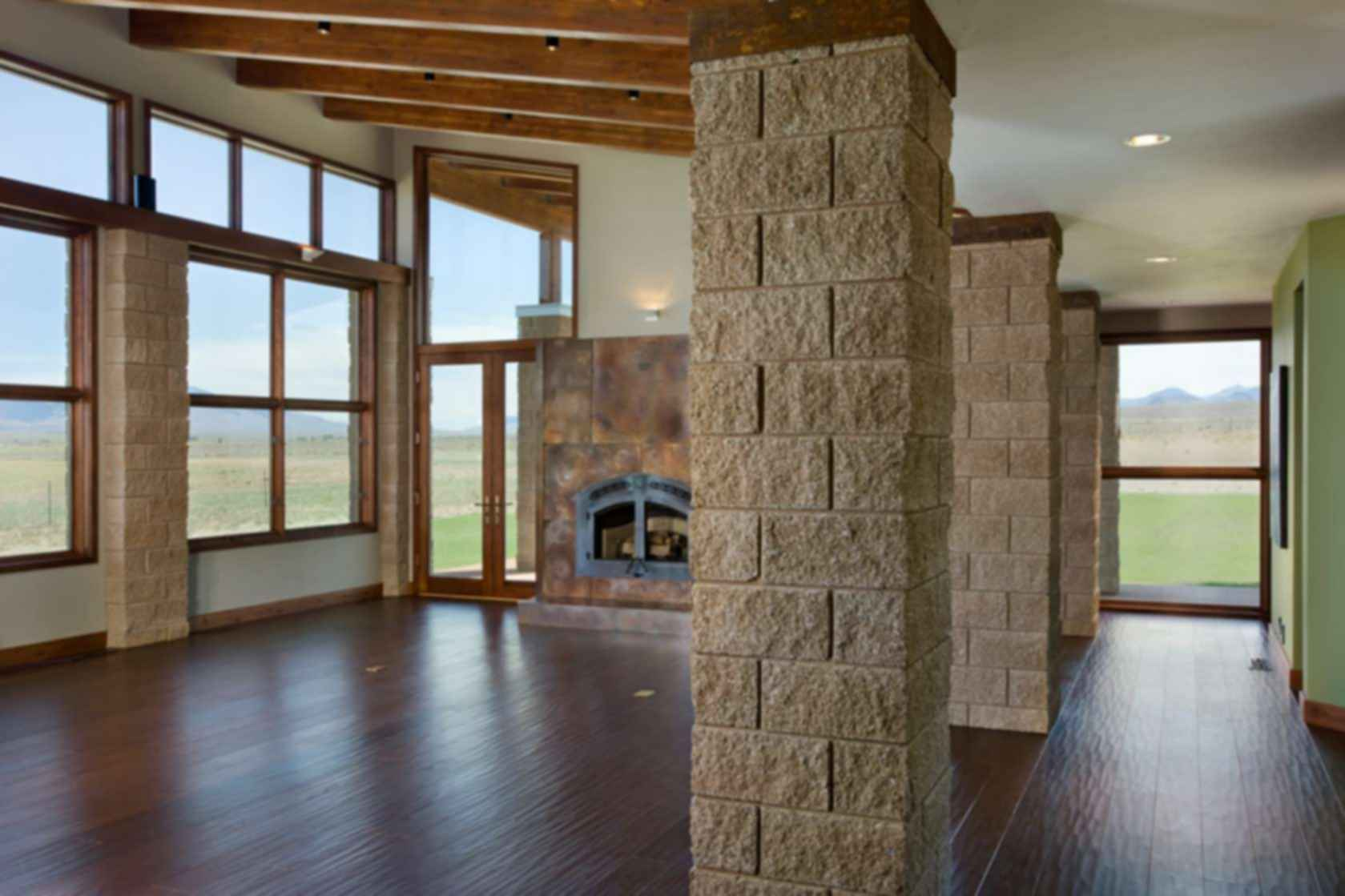 The Double Helix Ranch - Interior/Beams