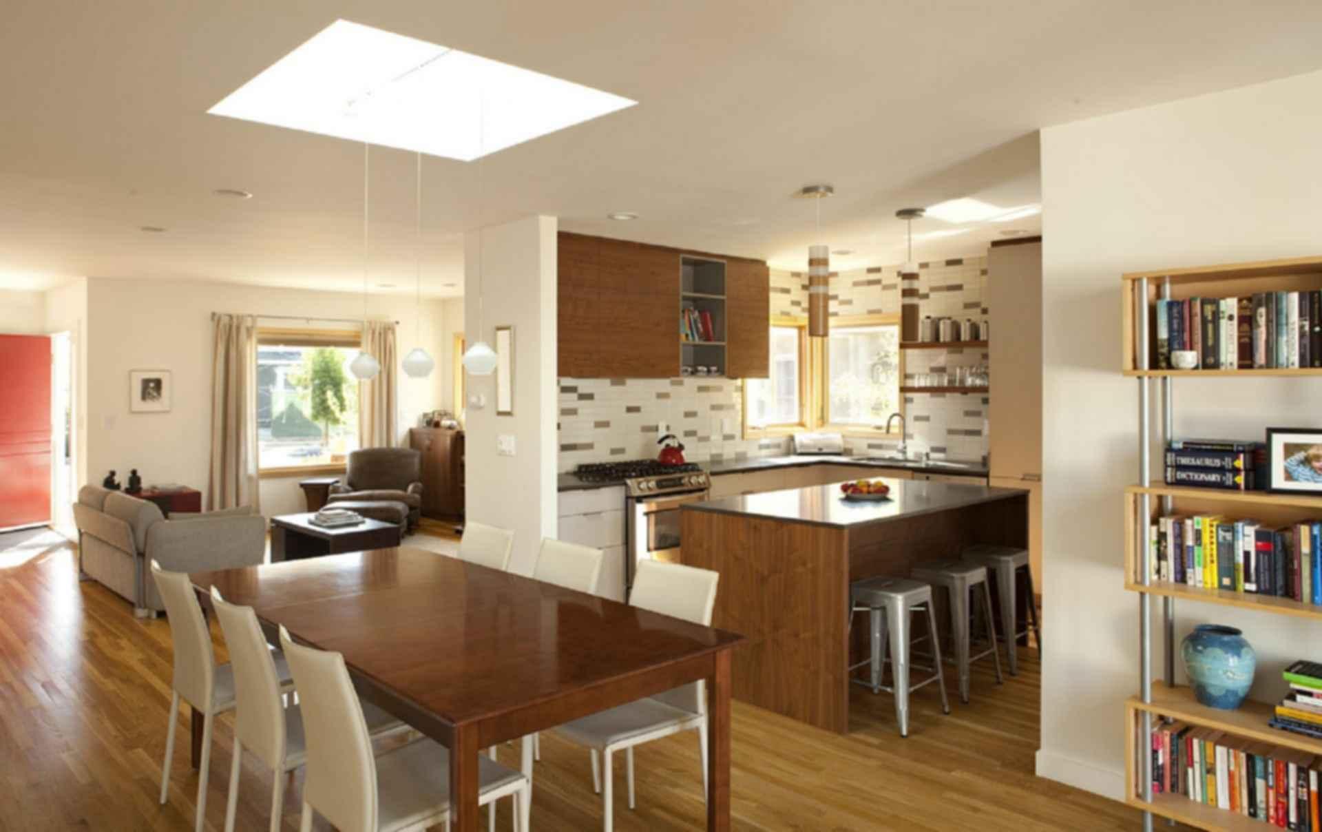 Modern Ranch House Conversion - Kitchen