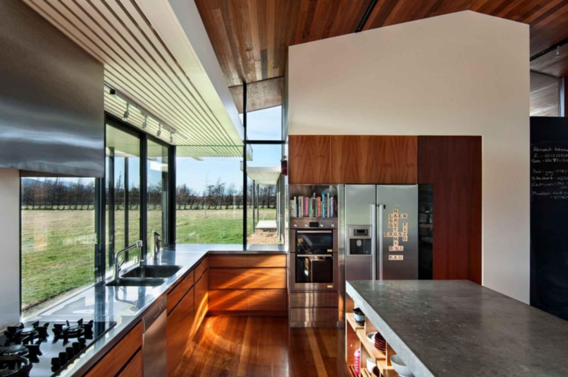Wairau Valley House - Kitchen