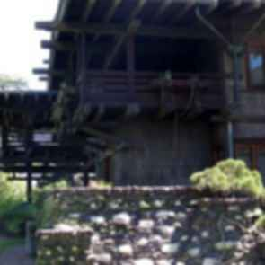 The Gamble House - Exterior/Stone Wall