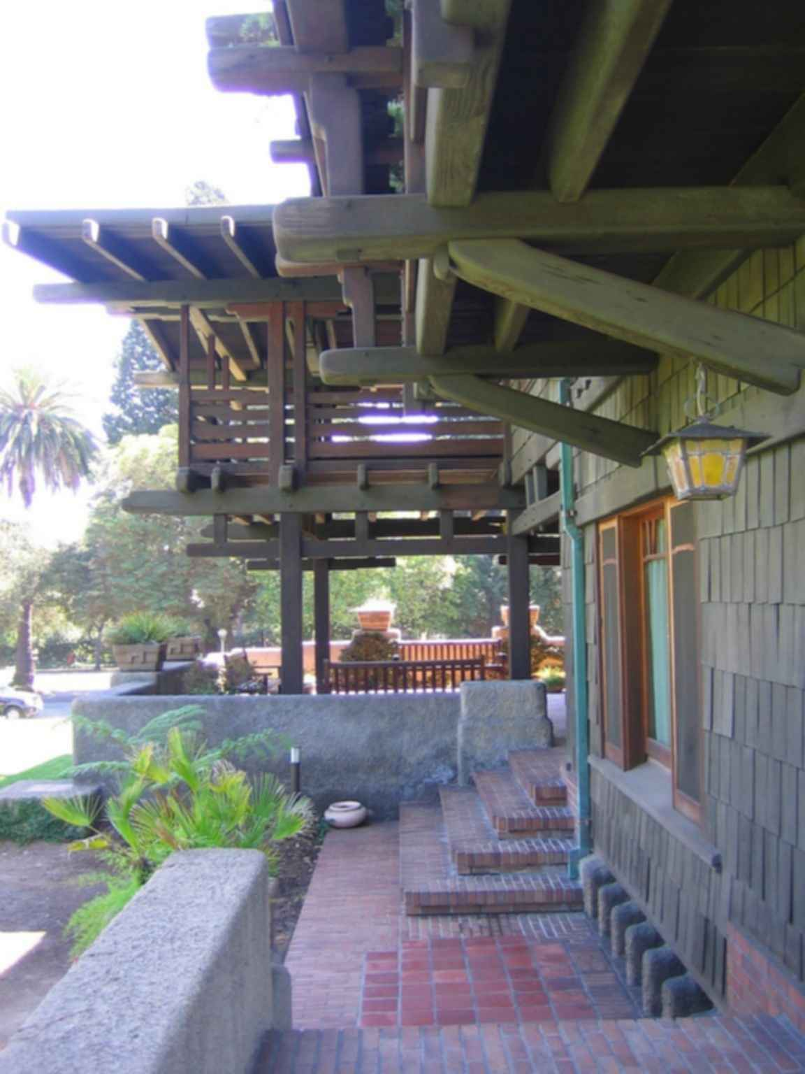 The Gamble House - Outdoor Stairs