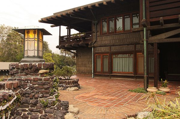 The Gamble House Exterior Outdoor Area Modlar Com