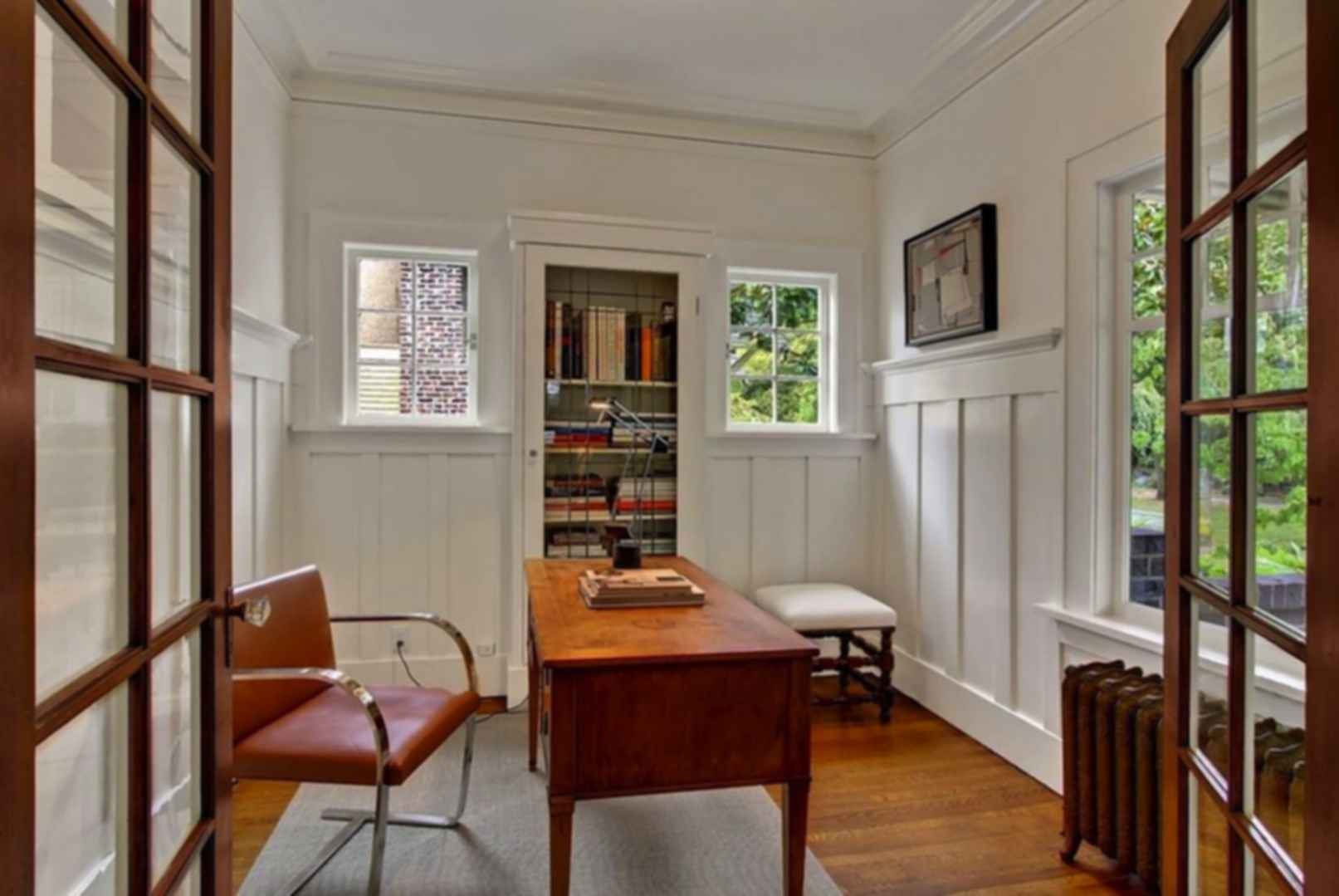 Mount Baker House - Interior/Office