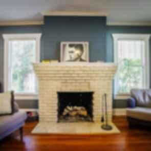Green Gable Bungalow - Fireplace