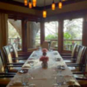 Lodge at Torrey Pines - Interior/Dining Table