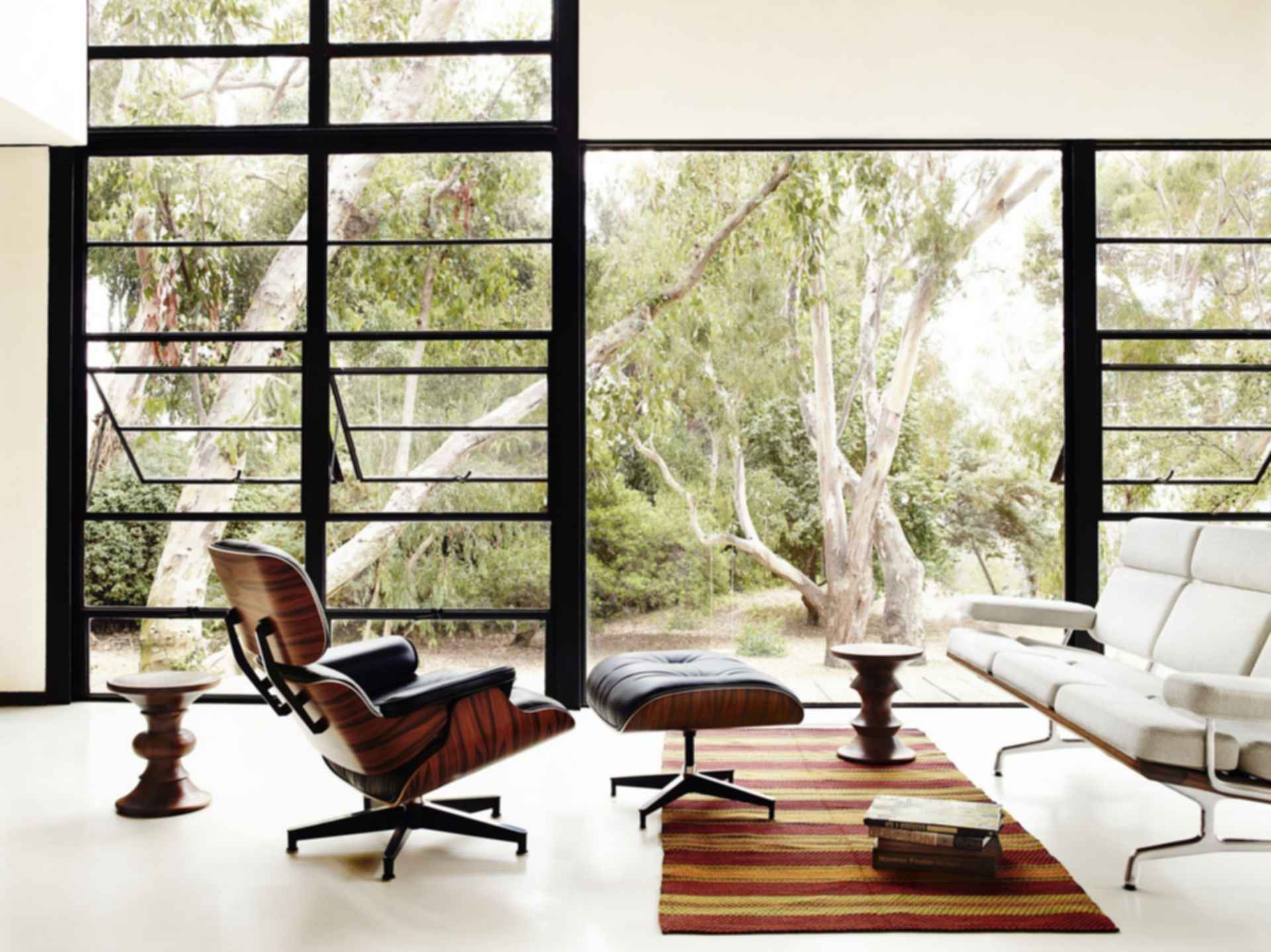 Eames House - Exterior/Walkway