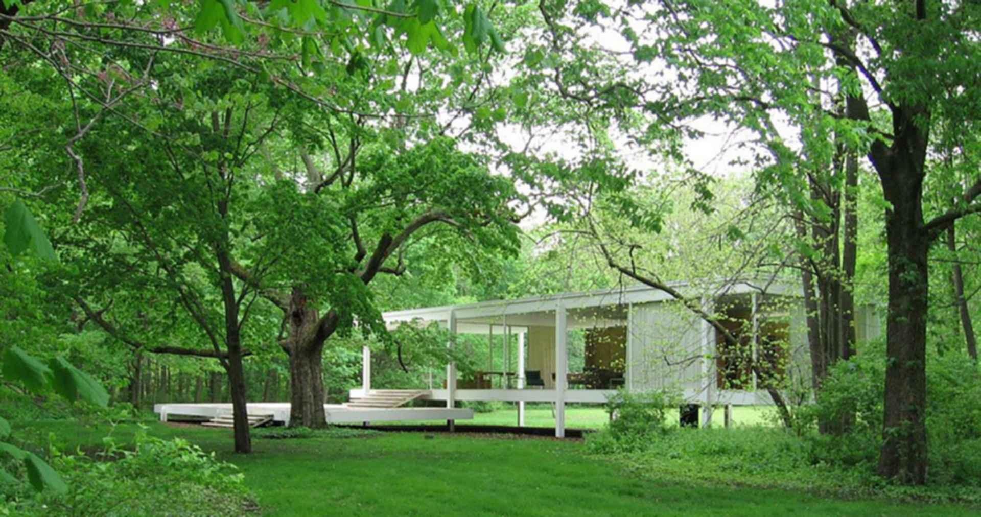 Farnsworth House - Exterior/Entrance