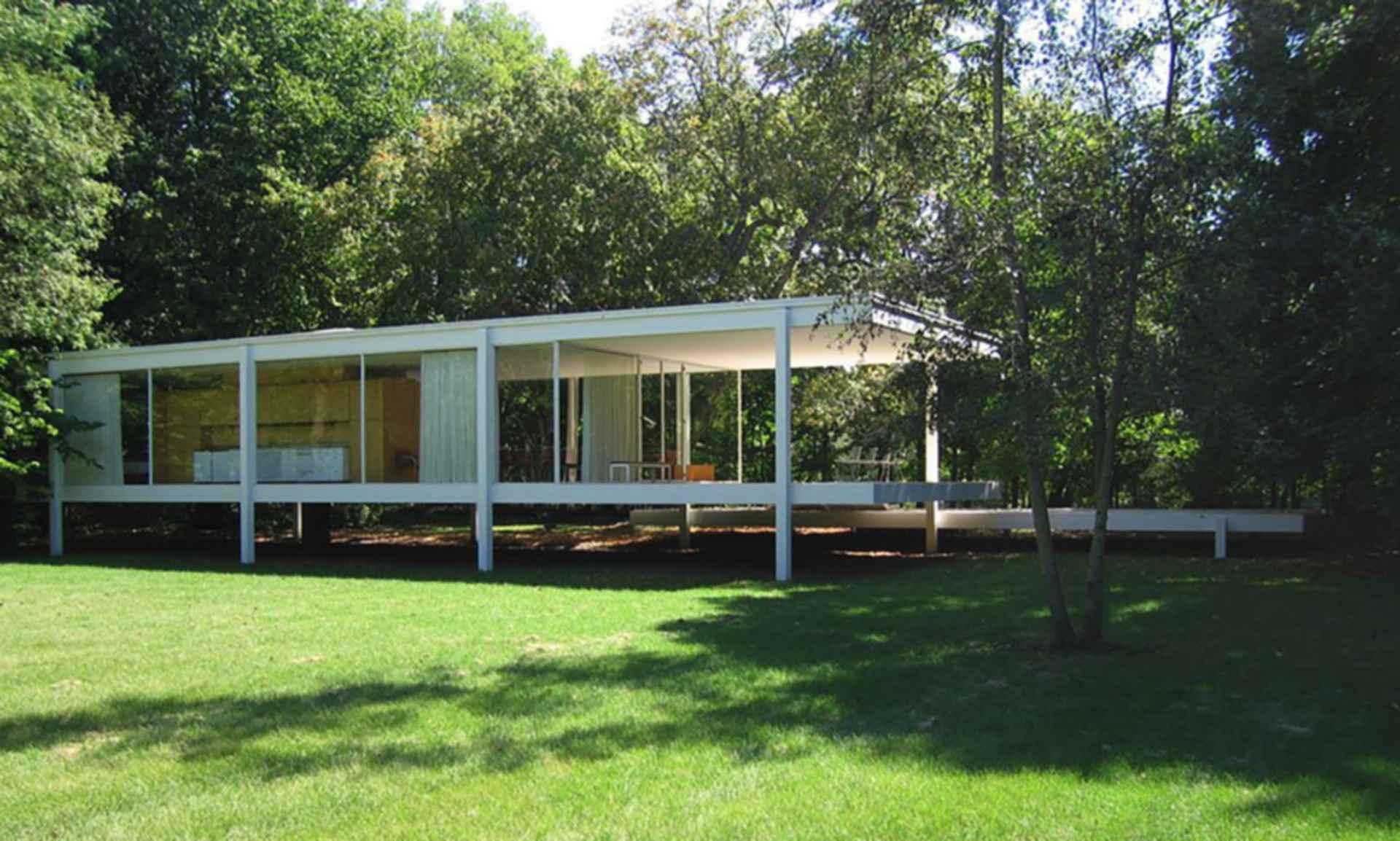 Farnsworth House - Exterior/Landscape