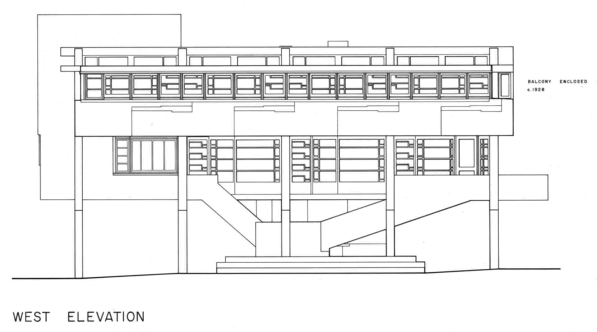 Lovell Beach House - Elevation