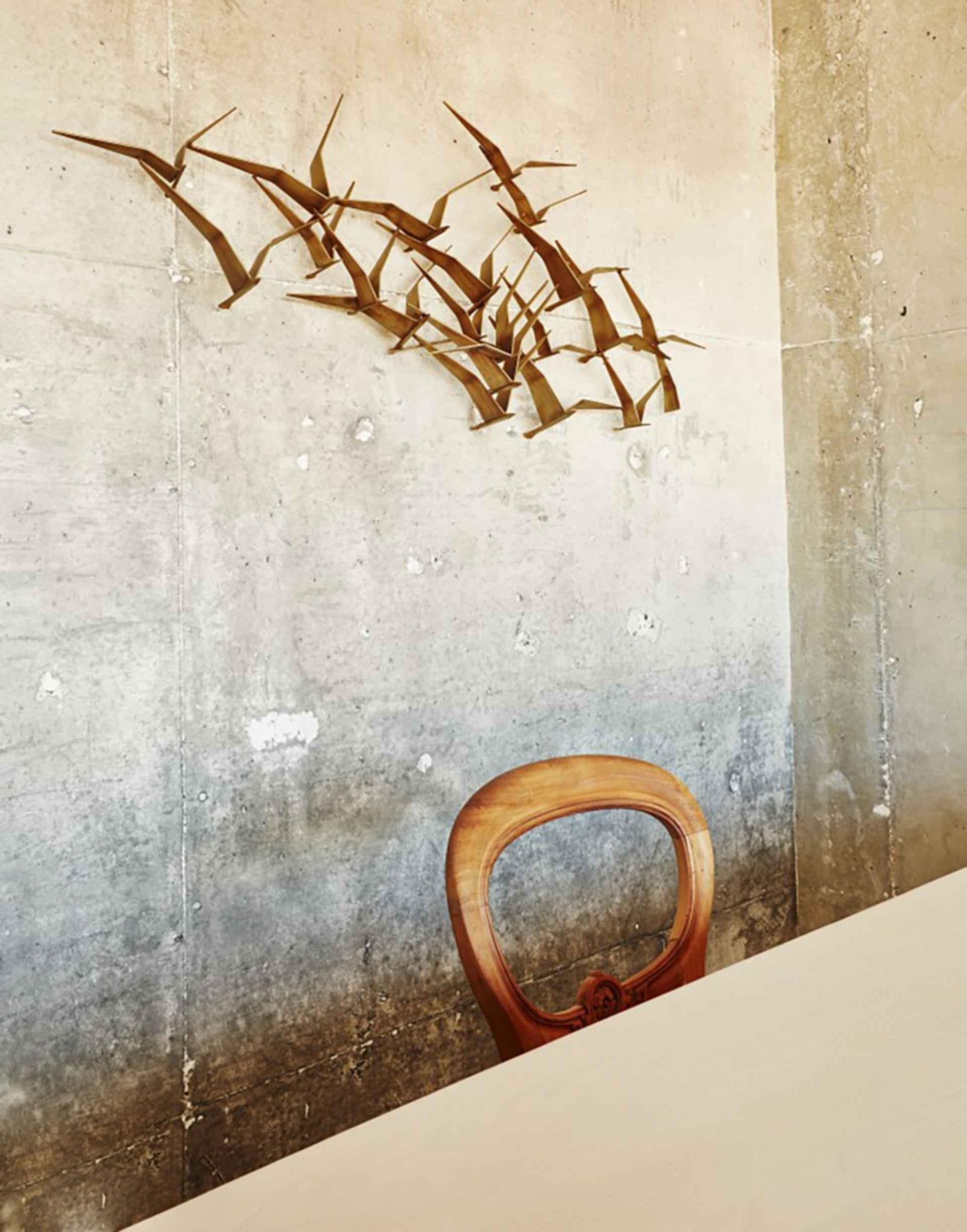 The Line Hotel - Interior/Concrete Wall
