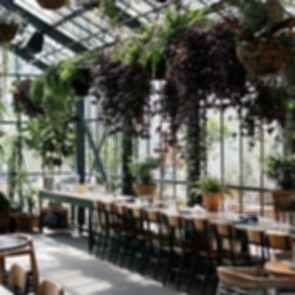 The Line Hotel - Interior/Cafe