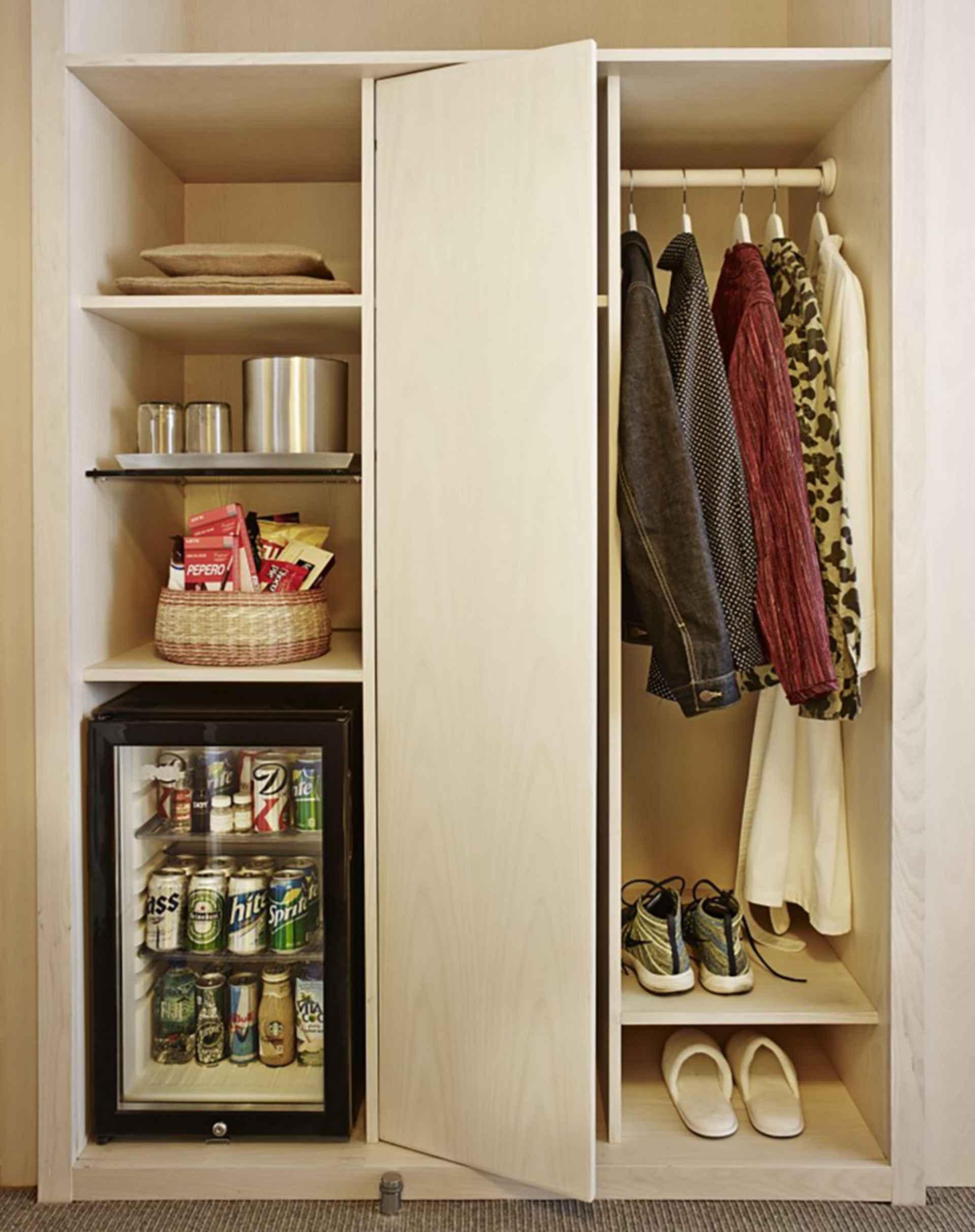 The Line Hotel - Interior/Bedroom Storage