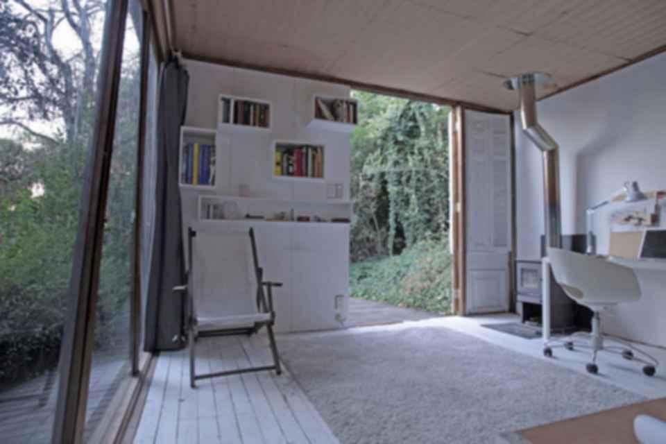 Hermit's Cabin - Interior