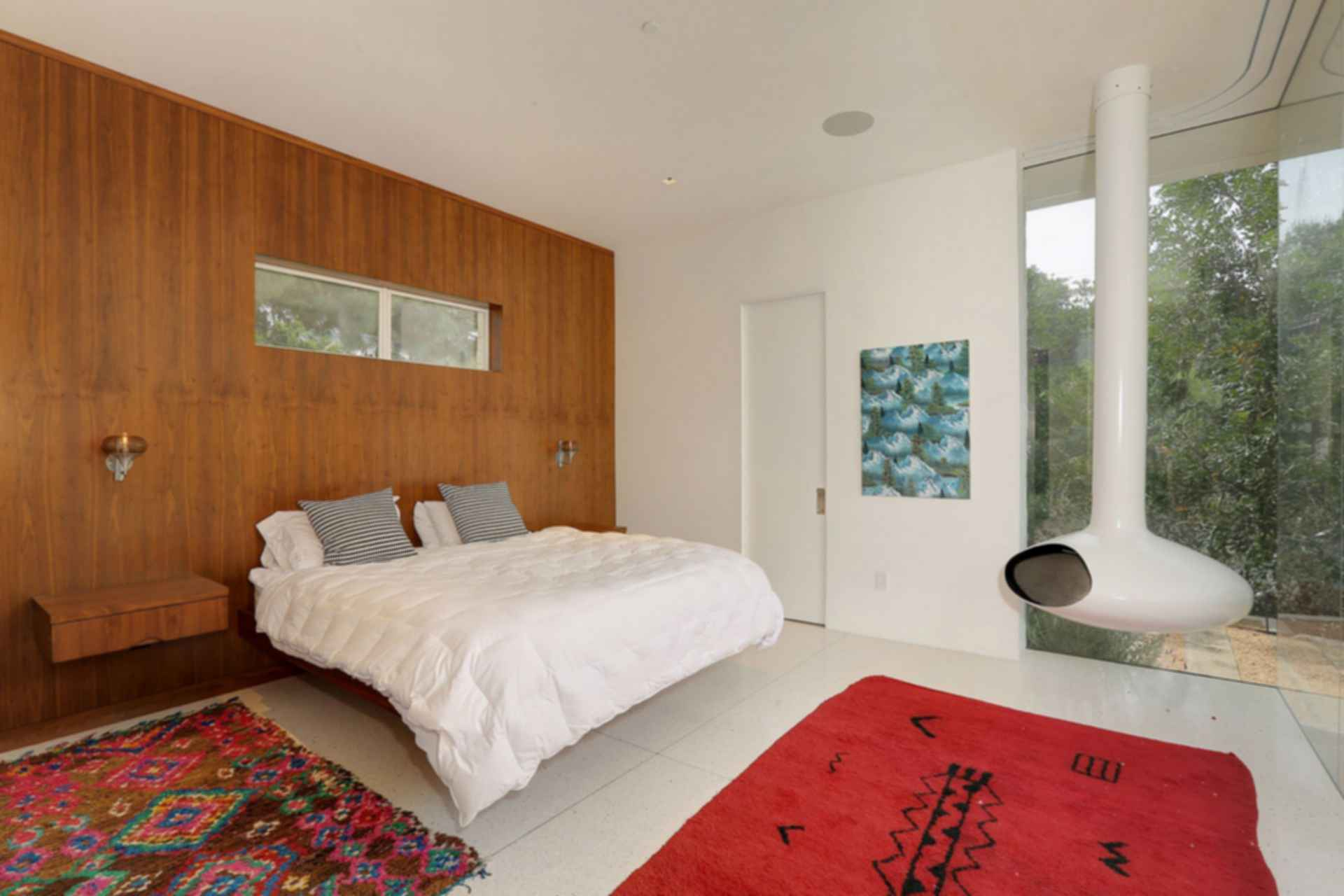 Hollywood Hills Residence - Bedroom