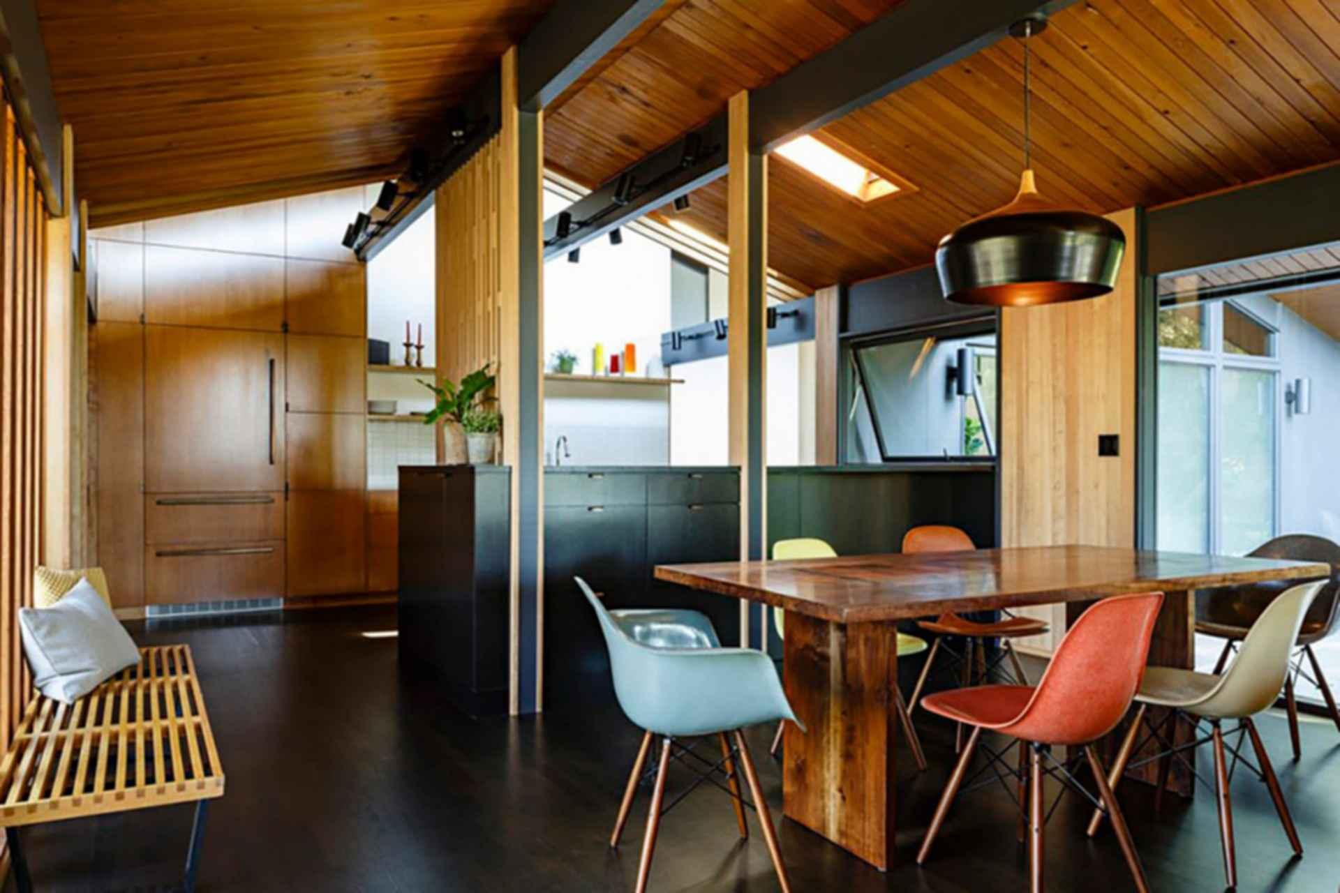 Feldman House - Interior/Dining Table