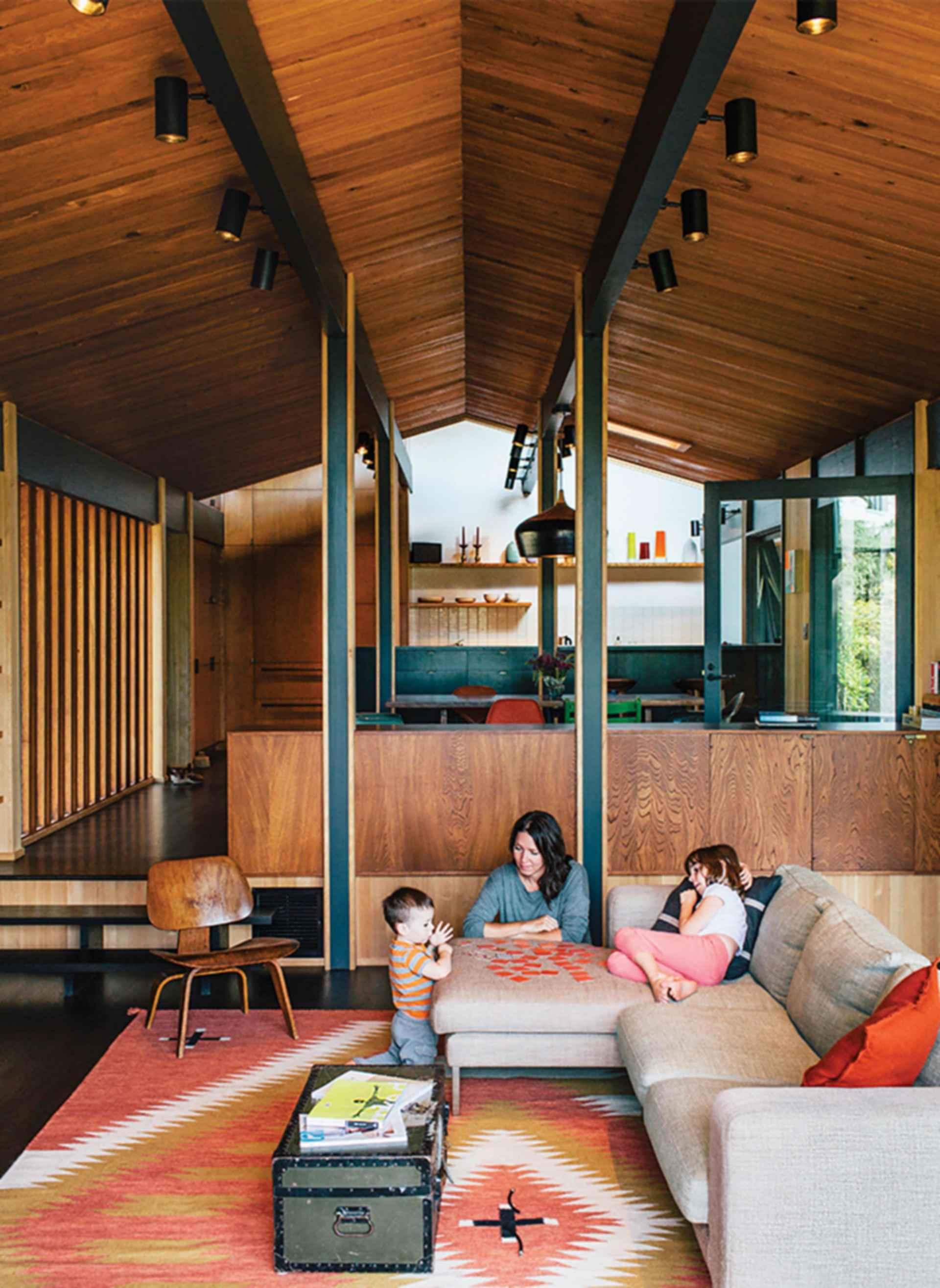 Feldman House - Interior/Lounge