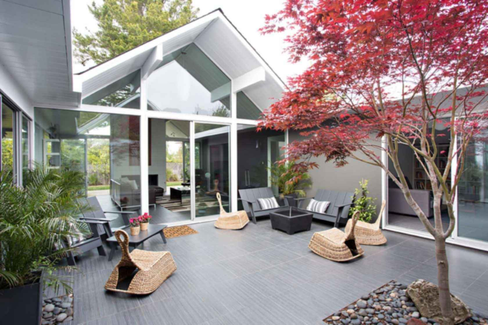 Double Gable Eichler Remodel - Exterior/Outdoor Area