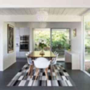 Double Gable Eichler Remodel - Dining Room