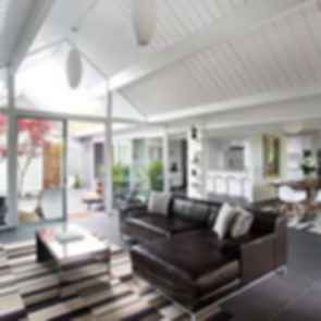 Double Gable Eichler Remodel - Lounge