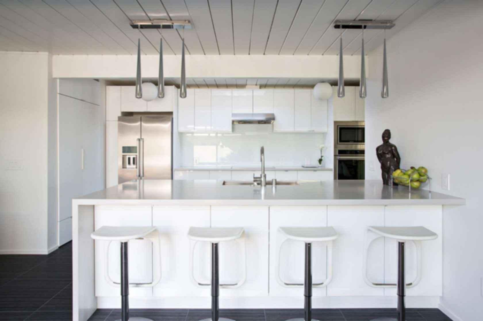 Double Gable Eichler Remodel - Kitchen