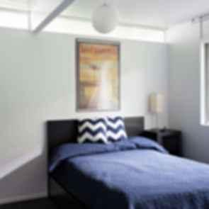 Double Gable Eichler Remodel - Interior Bedroom