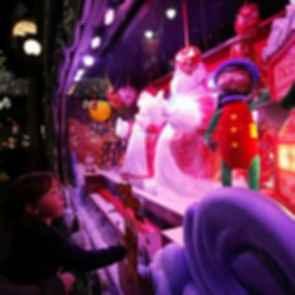 Macy's Christmas Window Display - Santa