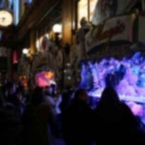 Macy's Christmas Window Display - Street View