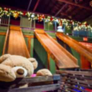 The North Pole Experience - Wooden Slide