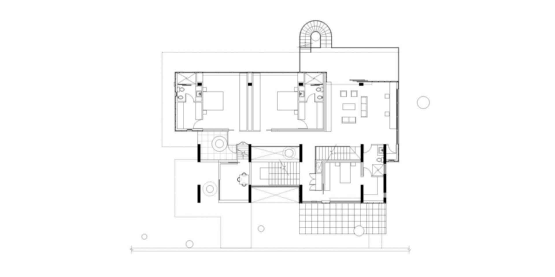 Corallo House - Floor Plan