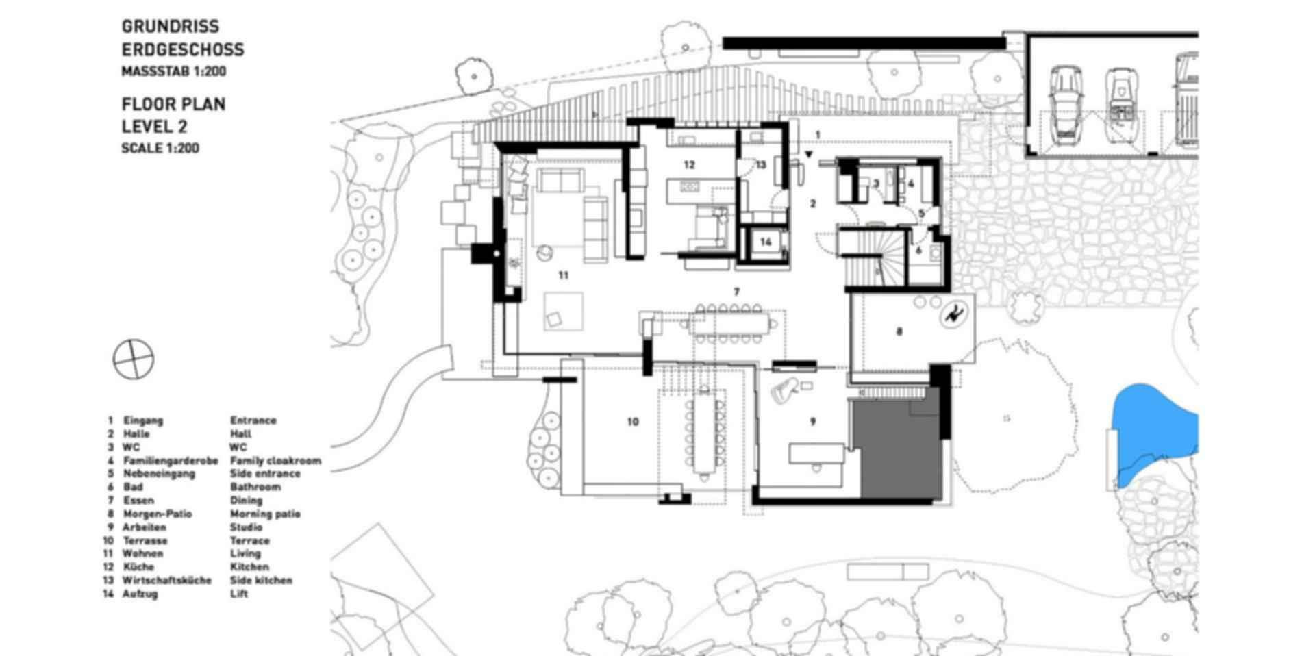 SU House - Floor Plan