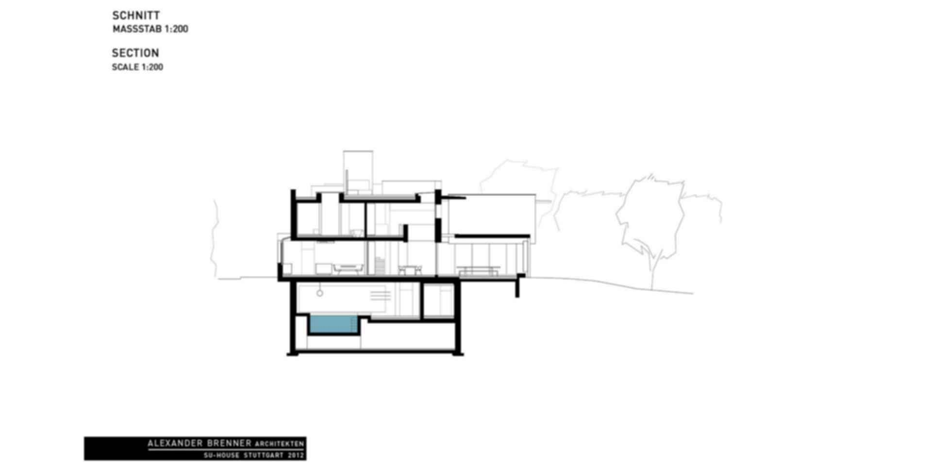 SU House - Section