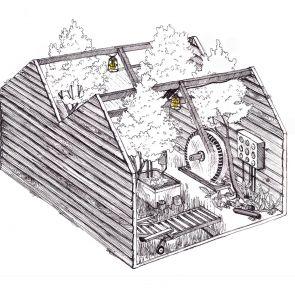 Barking Bathhouse Spa and Bar - Concept Design