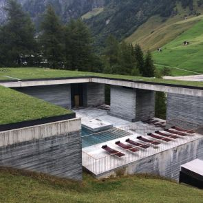 The Therme Vals - Exterior/Overview