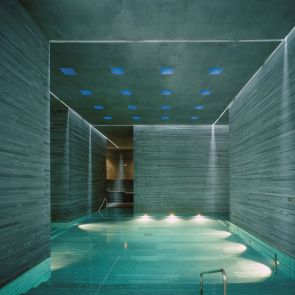 The Therme Vals - Interior/Pool