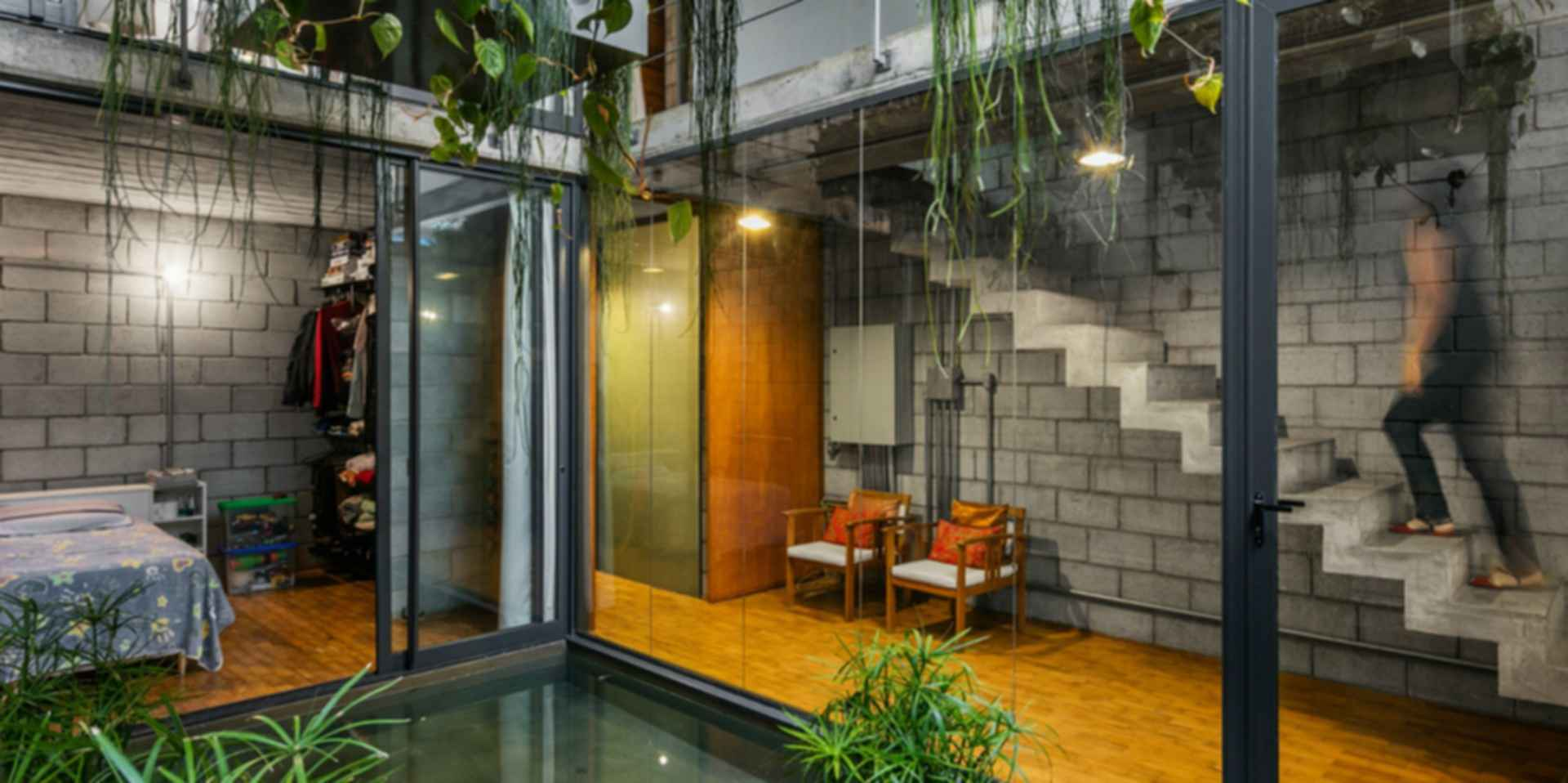 Mipibu House - Interior/Pond