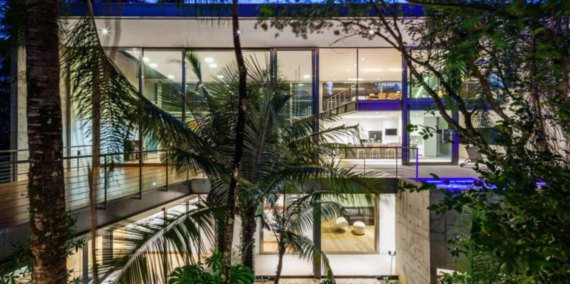LLM House - Courtyard
