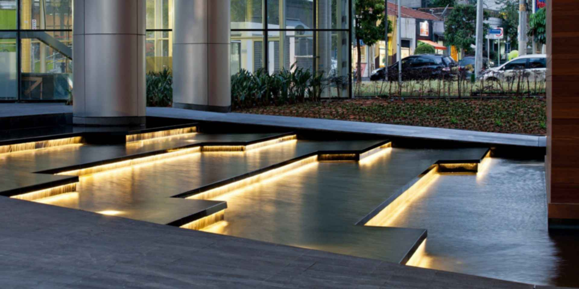 Infinity Tower KPF - Exterior/Water Feature