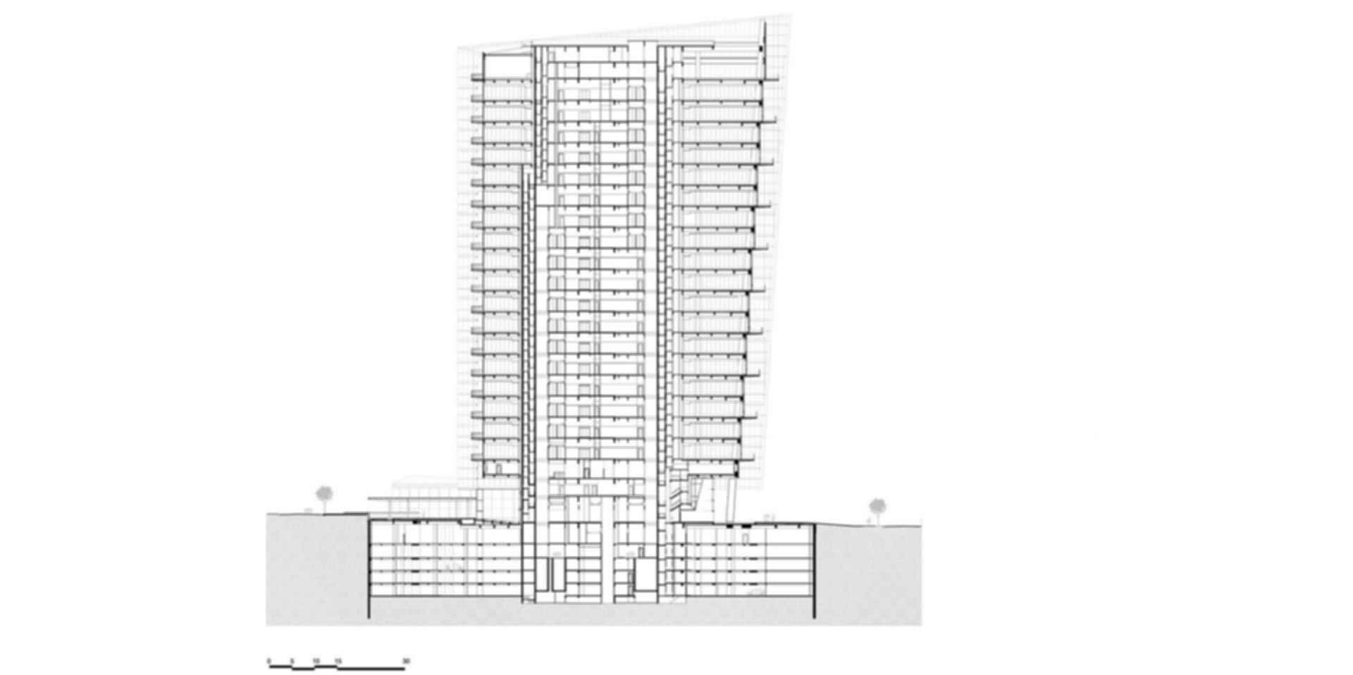 Infinity Tower KPF - Section