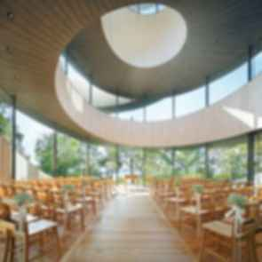 Ribbon Chapel - Interior